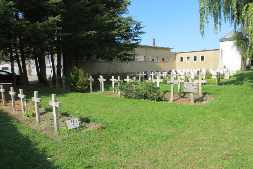 Belgian War Graves Communal Cemetery Veurne