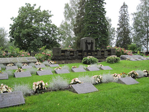 Finnish War Graves Uusikaarlepyy