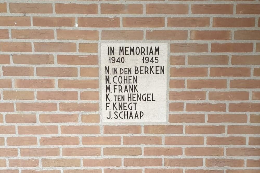 Monument Sportcomplex Berestein 's-Graveland