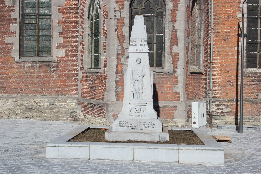 War Memorial Frasnes-lez-Buissenal