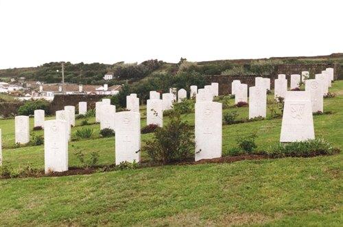 Tsjechoslowaakse Oorlogsgraven Lajes (Azoren)