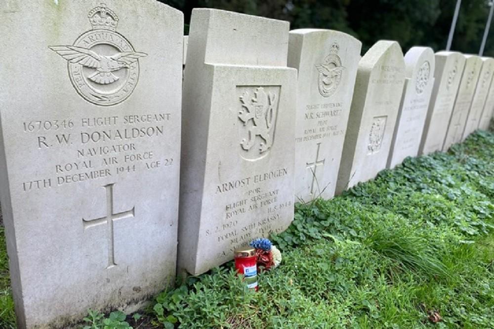 Poolse jachtvliegers na 76 jaar begraven