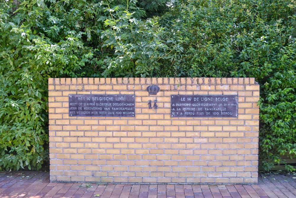 Monument 14th Line Hemmestraat