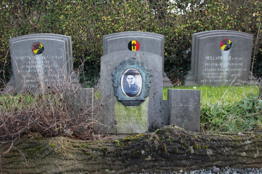 Commonwealth War Grave Jette