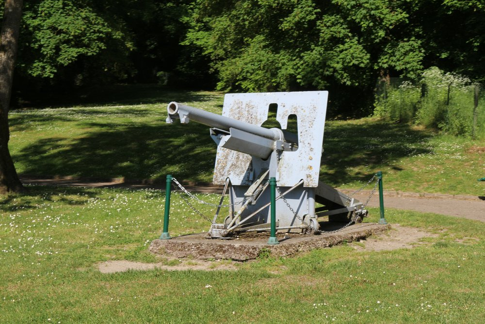 75mm Schneider Mle 1897 Fort-Kanonnen