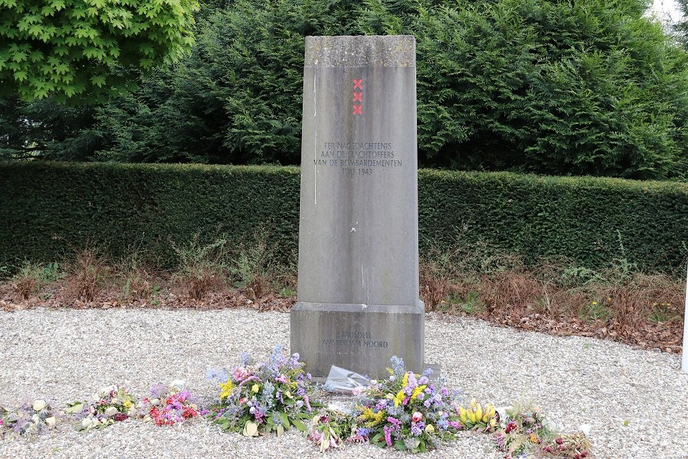 Fokker Memorial Cemetery North Amsterdam
