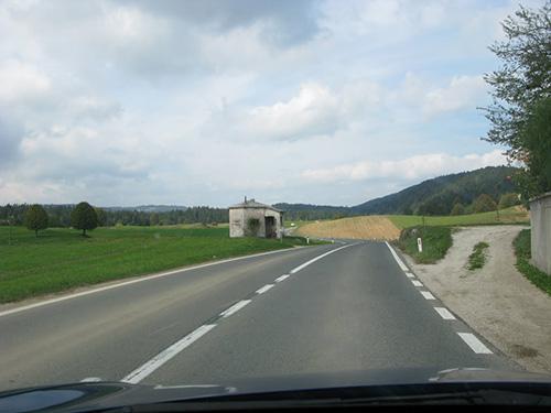 Alpine Wall - Former Italian Border Post