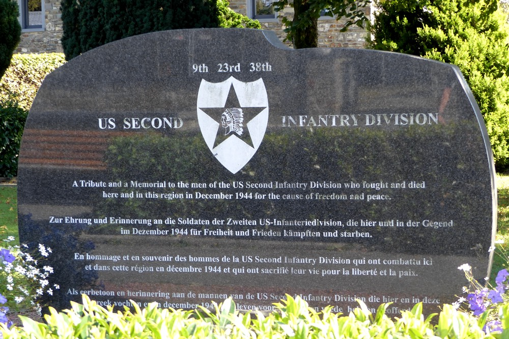 Memorial 2nd Infantry Division