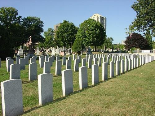 Oorlogsgraven van het Gemenebest Notre Dame Roman Catholic Cemetery