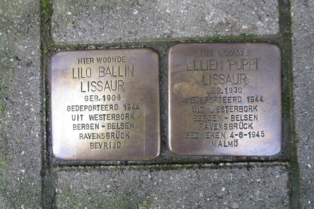 Remembrance Stones Herculesstraat 25