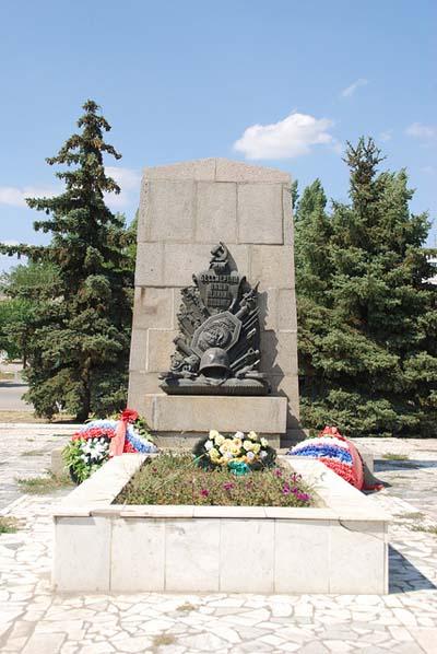 Massagraf Sovjet Soldaten Gorodishche