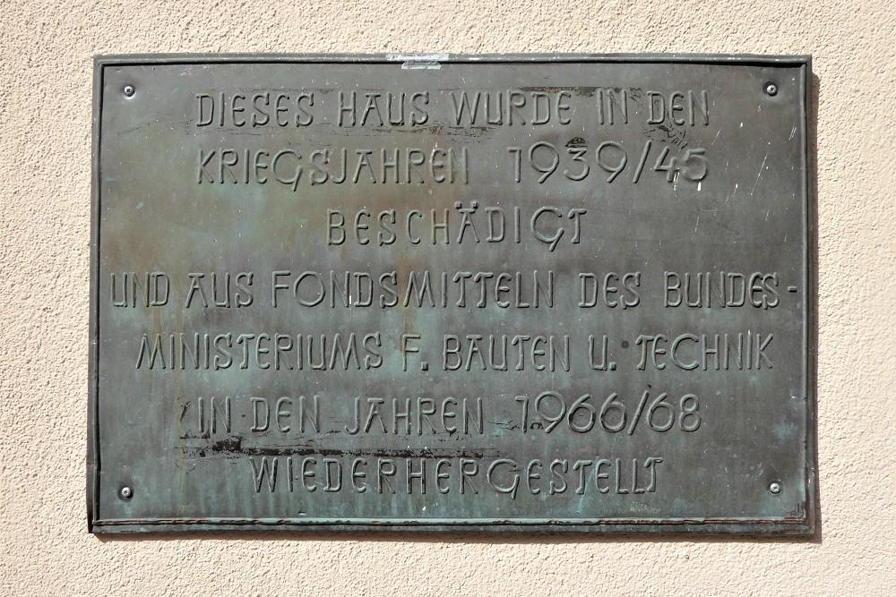 Memorial Plaque Schwaz