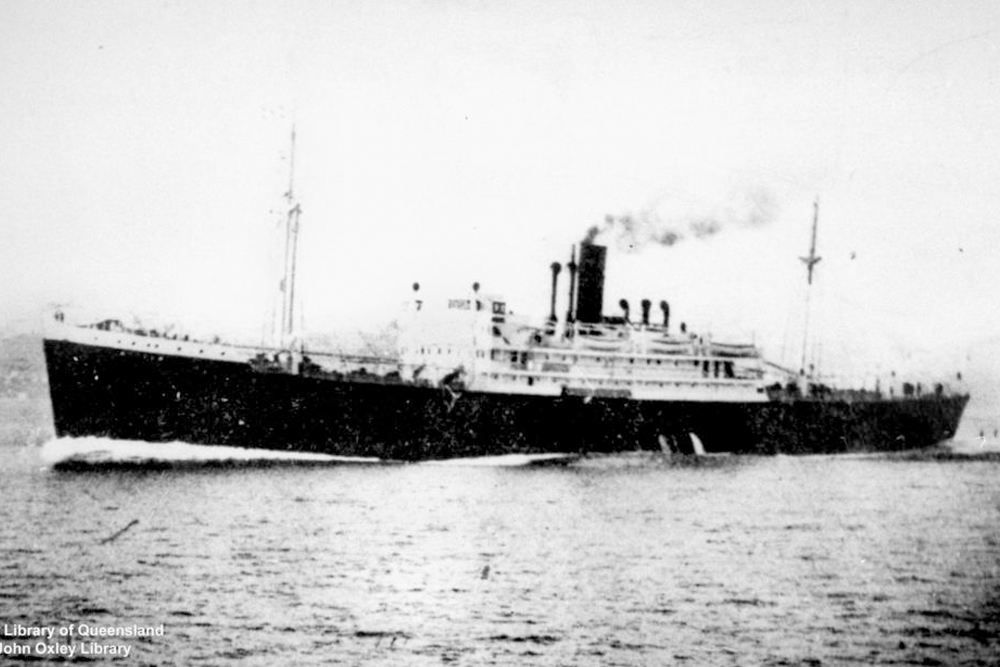 Shipwreck SS Anselm