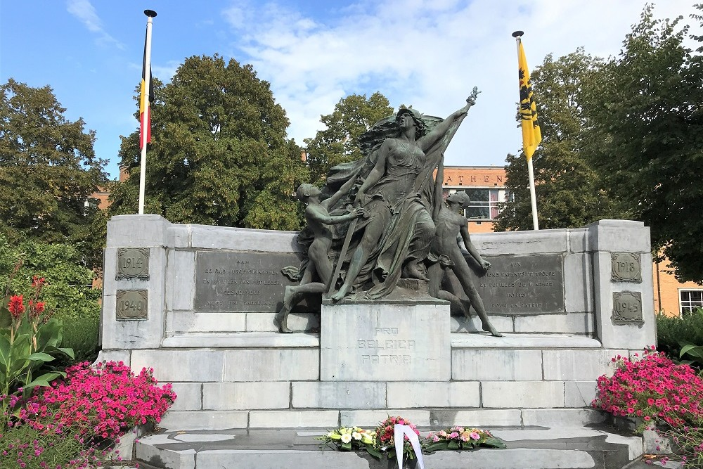 War Memorial Old Pupils, the Troop Children and Army Pupils Aalst