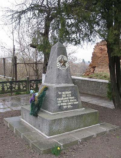Massagraf Slachtoffers Nationaal-Socialisme Berdytsjiv
