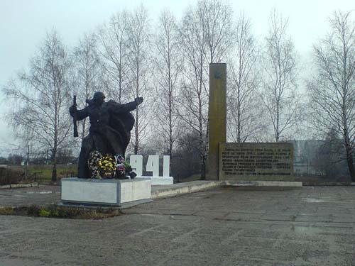 Monument Verdedigers Brug Jartsevo 1941