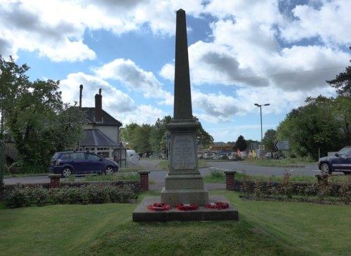 War Memorial Rowlands Castle