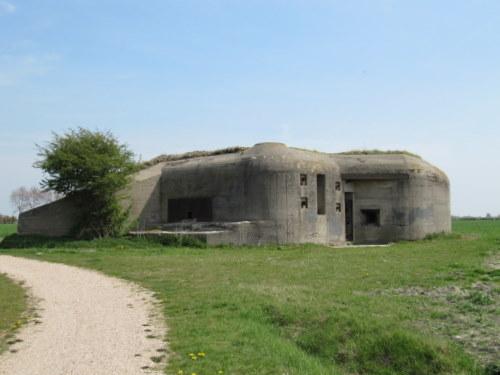 Landfront Vlissingen Stützpunkt Kolberg - Bunker 3 type 623