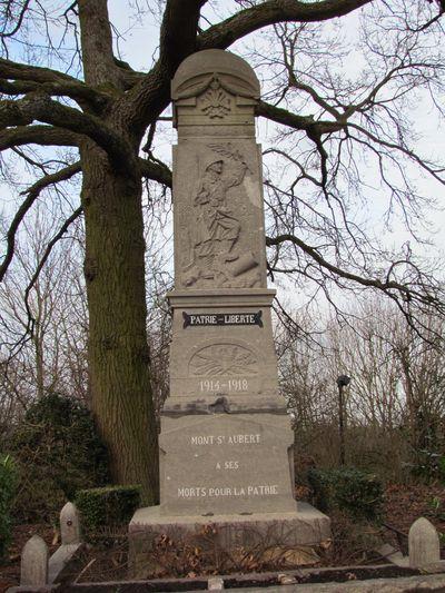 War Memorial Mont-Saint-Aubert