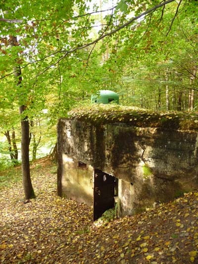 Maginot Line - Casemate Gunsthal Col Ouest