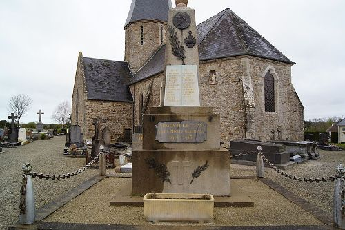 Oorlogsmonument Angoville-sur-Ay