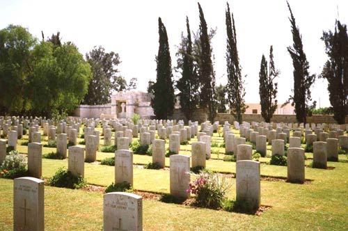 Commonewealth War Cemetery Gaza