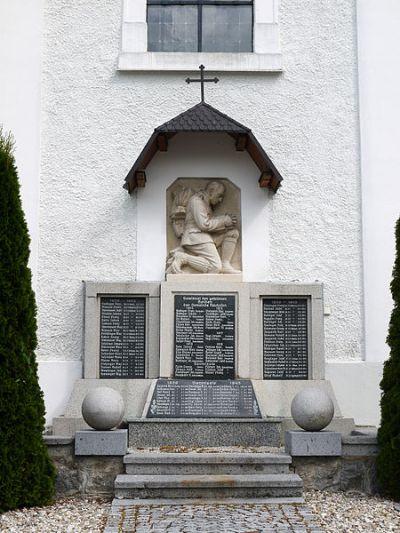 War Memorial Neuhofen im Innkreis