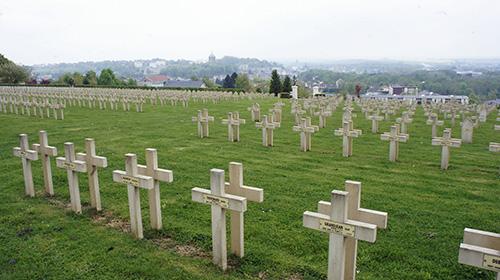 Franse Oorlogsbegraafplaats Rethel