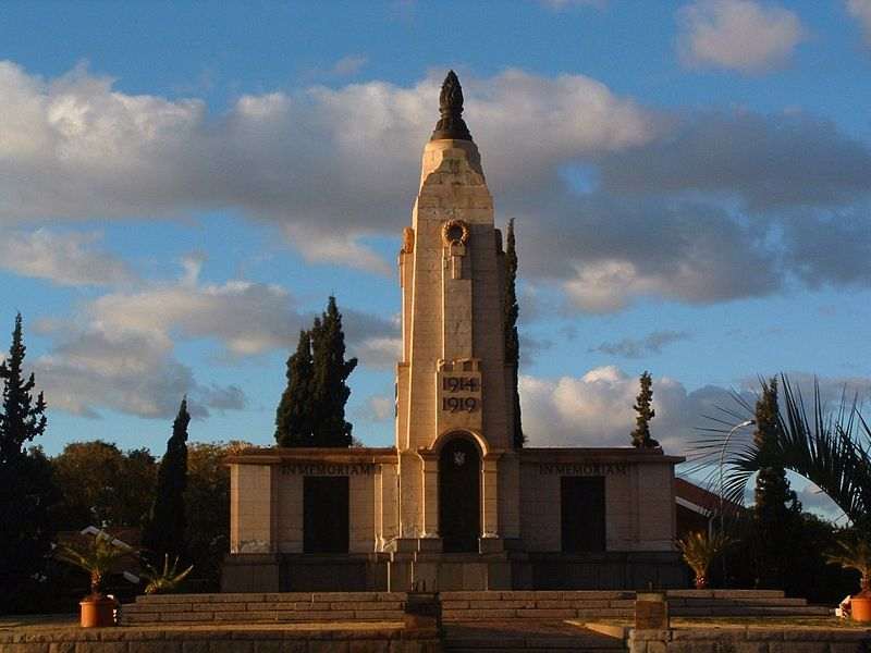 War Memorial Kimberley