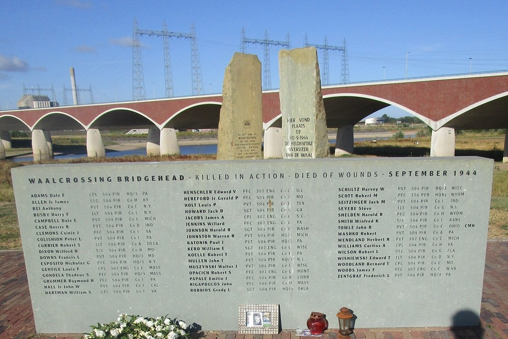 Memorial Waalcrossing at Nijmegen