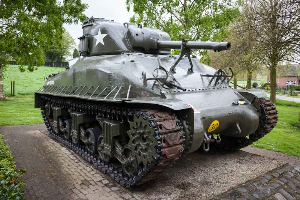 M4 Sherman Tank Woensdrecht