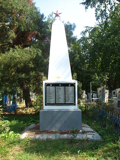 Mass Grave Soviet Soldiers Il'skiy