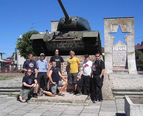 Liberation Memorial (T-34/85 Tank) Ostroleka