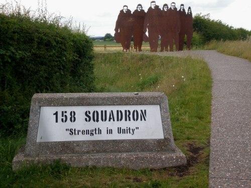 Monument RAF 158 Squadron
