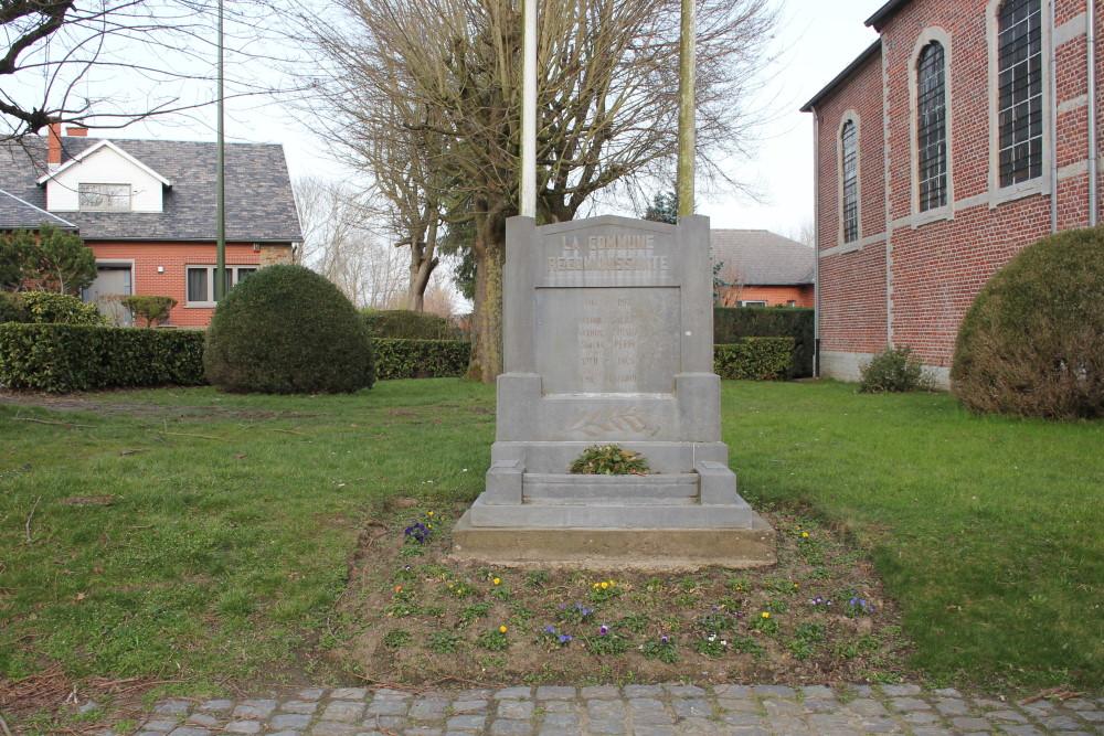 Oorlogsmonument Thorembais-Saint-Trond