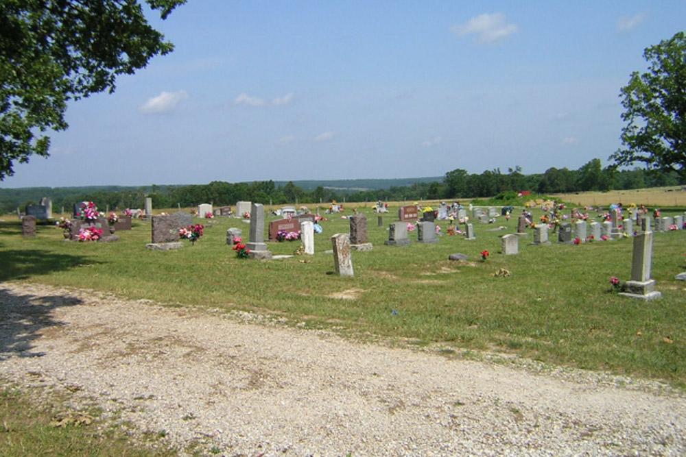 American War Grave Oak Grove Cemetery