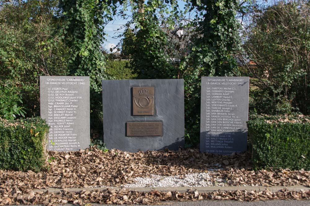 Monument Gesneuvelde Carabiniers Maldegem