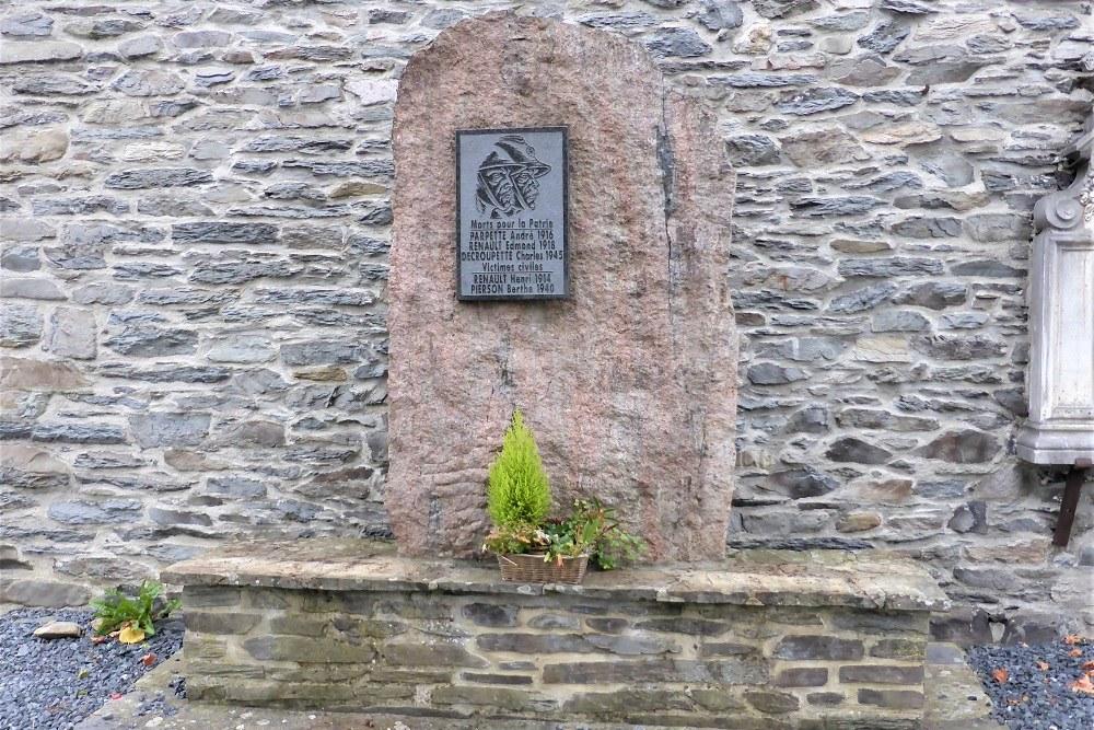 War Memorial Vresse