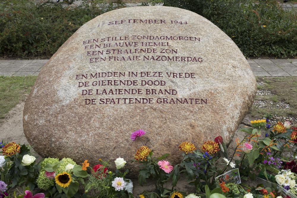 Memorial Victims Bombardment Wageningen