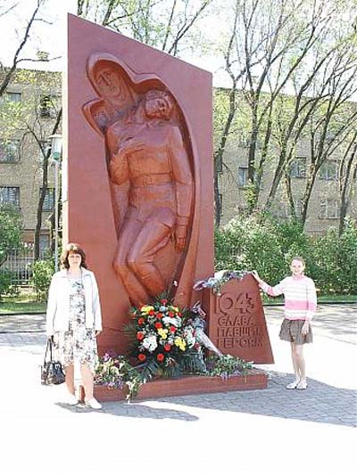 Massagraf Sovjet Soldaten Luhansk (A)