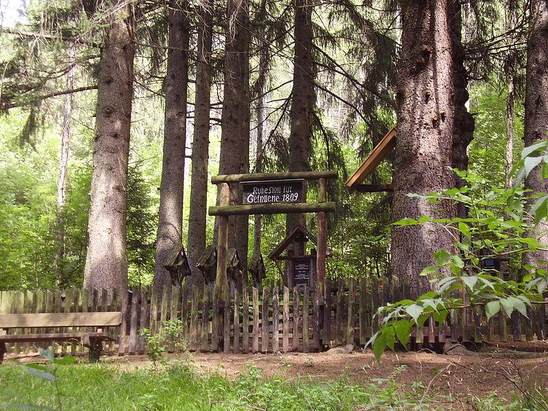 Franse Oorlogsbegraafplaats 1809 Dietenheim