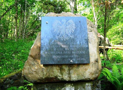 Monument Poolse LWP Soldaten Golce