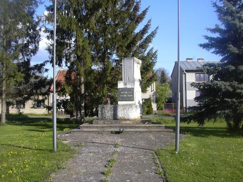 War Memorial Hlubočany