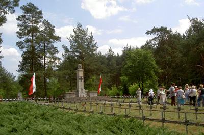 Partizanen Oorlogsbegraafplaats Osuchy