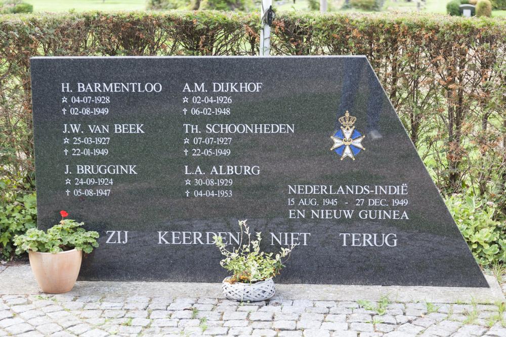 Monument Slachtoffers Nederlands-Indië en Nieuw Guinea