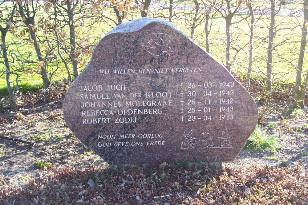 Joods Monument Noordwijk