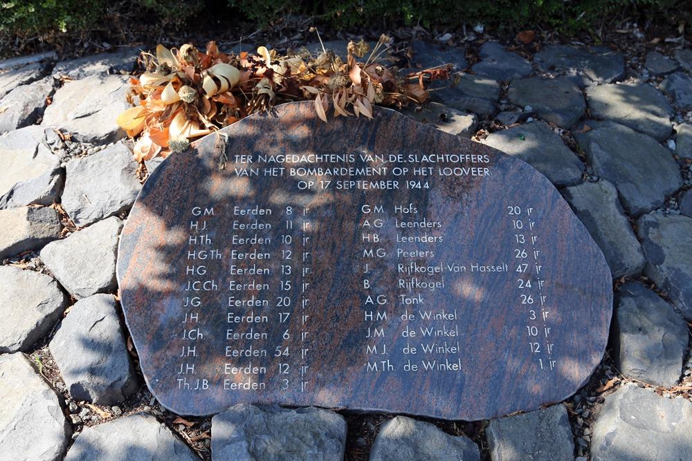 Monument Bombardement 17-09-1944 Huissen