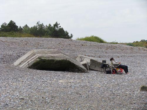 Restant Duitse Bunker Le Hourdel
