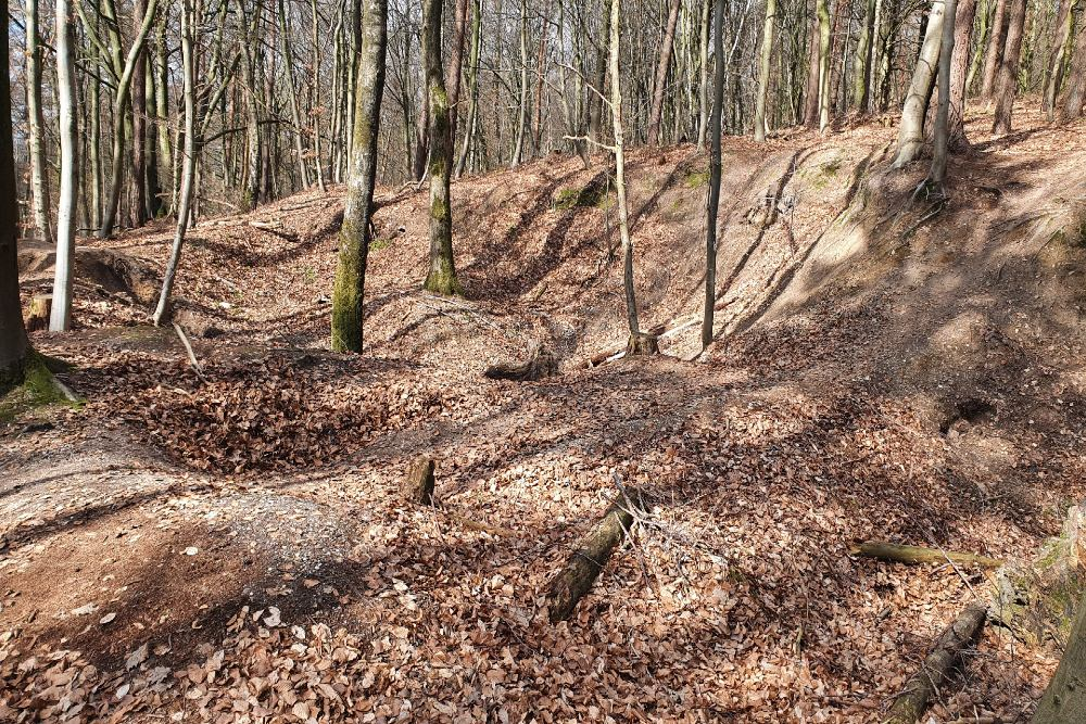 Trenches on Pyramid Hill