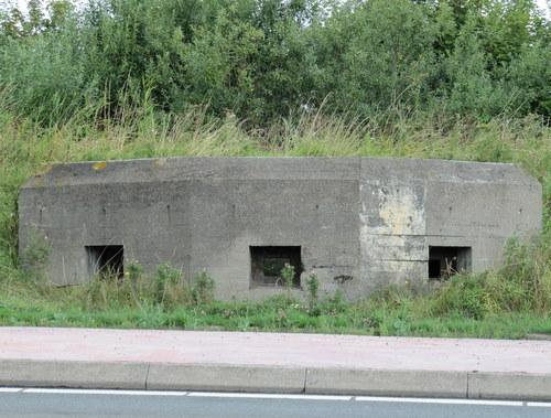 Ned. MG Bunker type Stekelvarken Yerseke bunker 1